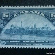 Sellos: CANADÁ , YVERT Nº 168 , NUEVO SIN GOMA , 1933. Lote 89347576