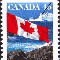 Sellos: [CF4060B] CANADÁ 1998, SERIE BANDERA NACIONAL II (MNH). Lote 90855880