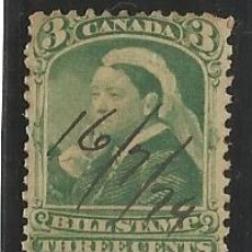 Sellos: CANADA, BILL STAMPS: 3 CENTS (1919) Y 9 CENTS (1919) *MH. Lote 97979323