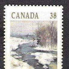 Sellos: CANADA 1989 - USADO. Lote 100233383