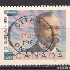 Sellos: CANADA 1989 - USADO. Lote 100235959