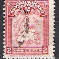 Sellos: CANADA, NEW FOUNDLAND 1908 - USADO. Lote 100236959