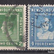Sellos: CANADA, NEW FOUNDLAND 1938 - USADO. Lote 100237355