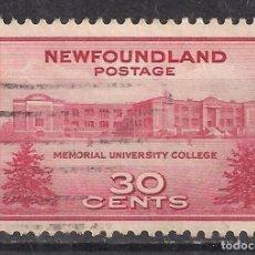 Sellos: CANADA, NEW FOUNDLAND 1943 - USADO. Lote 100237515