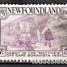 Sellos: CANADA, NEW FOUNDLAND 1947 - USADO. Lote 100237783