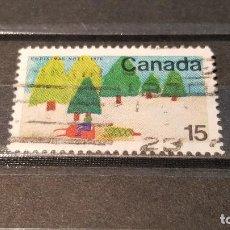 Sellos: SELLO USADO CANADA. AÑO 1970. NAVIDAD DIBUJOS INFANTILES.. Lote 101499167