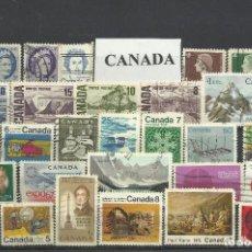 Sellos: COLECCIÓN DE SELLOS DE CANADA. Lote 103371203