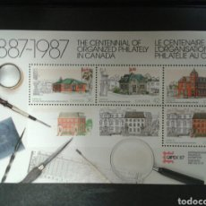 Sellos: CANADÁ. YVERT HB-7. SERIE COMPLETA SIN CHARNELA. CAPEZ 87. Lote 104332931