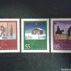 Sellos: CANADÁ. YVERT 1822/4. SERIE COMPLETA SIN CHARNELA. NAVIDAD.. Lote 104333208