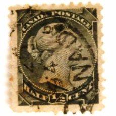 Sellos: SELLOS CANADA 1882. REINA VICTORIA. USADO CON CHARNELA.. Lote 105585187