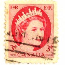 Sellos: SELLOS CANADA 1954. REINA VICTORIA. USADO.. Lote 105659031
