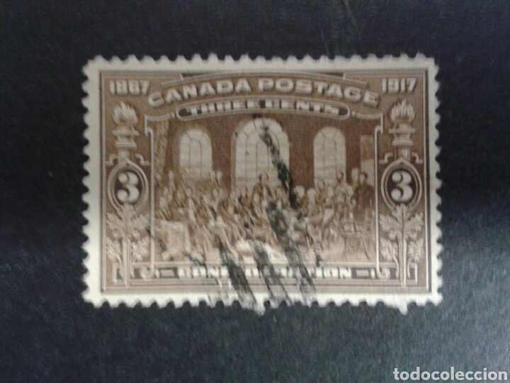 CANADÁ. YVERT 107. SERIE COMPLETA USADA. (Sellos - Extranjero - América - Canadá)