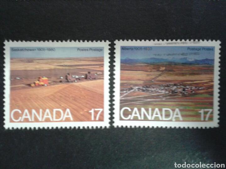 CANADÁ. YVERT 742/3. SERIE COMPLETA USADA. (Sellos - Extranjero - América - Canadá)