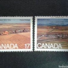 Sellos: CANADÁ. YVERT 742/3. SERIE COMPLETA USADA.. Lote 107178875