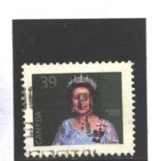 Sellos: CANADA 1990 - YVERT NRO. XXX - ELIZABETH - USADO. Lote 109166835