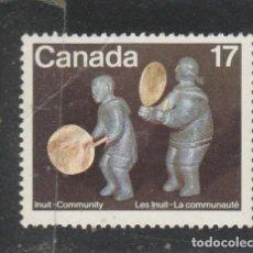 Sellos: CANADA 1979 - YVERT NRO. 716 - USADO - DOBLEZ. Lote 109168131