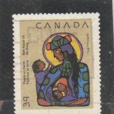 Sellos: CANADA 1990 - YVERT NRO. 1161 - USADO - PEQUEÑO CORTE. Lote 109169115