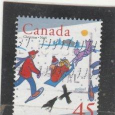 Sellos: CANADA 1996 - YVERT NRO. 1496 - USADO. Lote 109188475