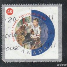 Sellos: CANADA 2002 - YVERT NRO. 1916 - USADO - ROMO . Lote 109189351