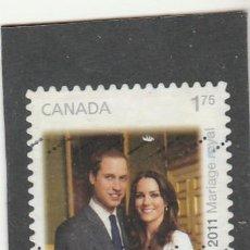 Sellos: CANADA 2011 - YVERT NRO. BF143A - USADO - . Lote 109190819