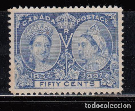CANADÁ , YVERT Nº 48 ( * ) (Sellos - Extranjero - América - Canadá)