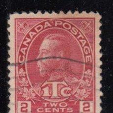 Sellos: CANADÁ , YVERT Nº 105 A , PLANCHA II . Lote 112105091