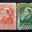Sellos: CANADA 1868. BILL STAMP. 8 VALORES DIFERENTES . * MH (18-95). Lote 113111255