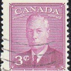 Sellos: 1943-48 - CANADA - JORGE VI DEL REINO UNIDO - YVERT 233. Lote 116357723