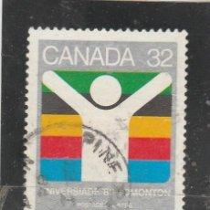 Timbres: CANADA 1983 - YVERT NRO. 849 - USADO - PEQUEÑO CORTE. Lote 118029143