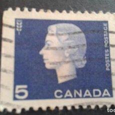 Sellos: CANADÁ,1962-1963,ISABEL II,YVERT 332,SCOTT 405,USADO,( LOTE AG). Lote 127541807