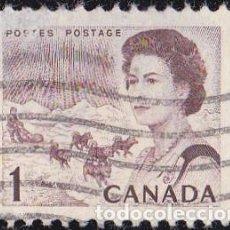 Sellos: 1967 - CANADA - ISABEL II DEL REINO UNIDO - YVERT 378. Lote 131609110