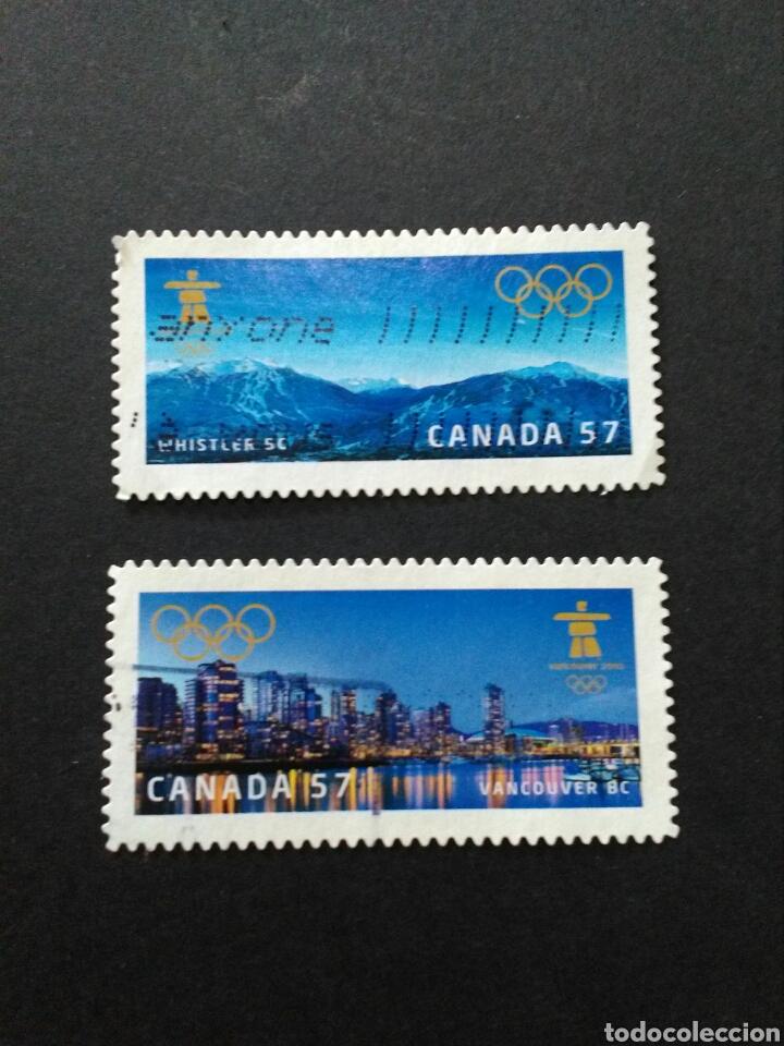 Canada Serie Completa Juegos Olimpicos De Inv Comprar Sellos