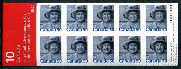 CANADA - REINA ELIZABETH II - 5 CARNETS (2005) ** (VER IMAGENES) (Sellos - Extranjero - América - Canadá)