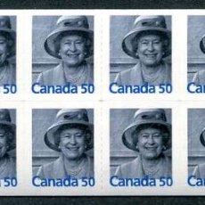 Sellos: CANADA - REINA ELIZABETH II - 5 CARNETS (2005) ** (VER IMAGENES). Lote 137707386