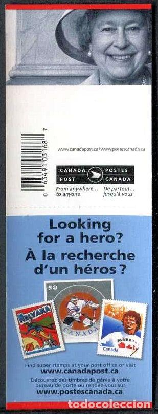 Sellos: CANADA - REINA ELIZABETH II - 5 CARNETS (2005) ** (Ver imagenes) - Foto 5 - 137707386