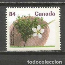 Sellos: CANADA YVERT NUM. 1227 A ** NUEVO SIN FIJASELLOS ARBOLES. Lote 139889802