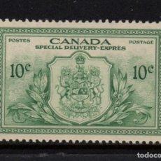Sellos: CANADA URGENTE 11** - AÑO 1946 - VICTORIA Y PAZ. Lote 140142578