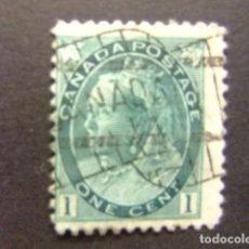 Sellos: CANADA 1898 - 03 REINE VICTORIA QUEEN VICTORIA YVERT 63 FU . Lote 142183398