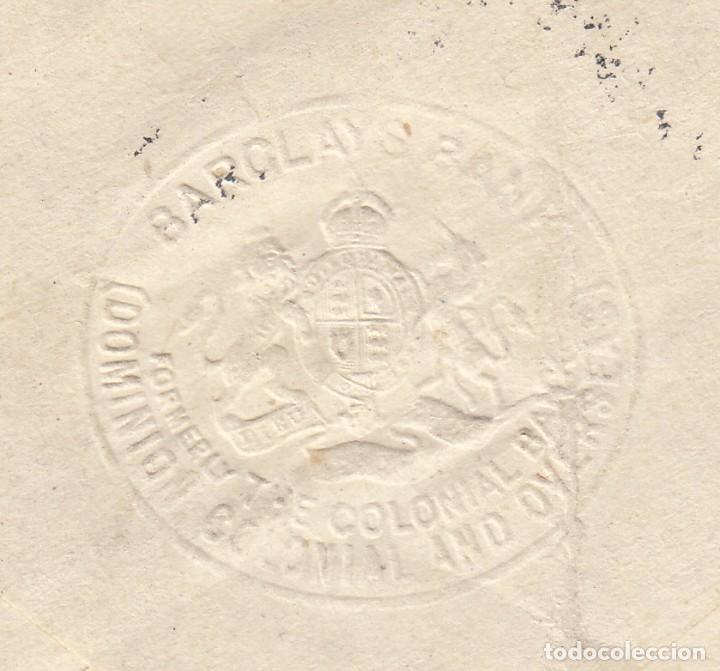 Sellos: SOBRE 1943 TORONTO ( CANADA ) REMITENTE BARCLAIS BANK ( SELLO DE AGUA ) - Foto 2 - 143826254