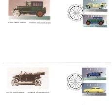 Sellos: LOTE DE 2 SOBRES PRIMER DIA CANADA. HISTORIA DEL AUTOMOVIL. DAY OF ISSUE. AÑO 1993. Lote 144109520