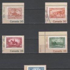 Sellos: R/18811, SERIE DE SELLOS USADOS DE CANADÁ -CANADÁ'82-, AÑO 1982, EN BUEN ESTADO. Lote 145083386