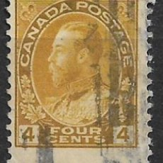 Sellos: CANADA 1911-25 SC# 110 USED - 8/30. Lote 146728946