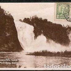 Sellos: CANADA & MARCOFILIA, CATARATAS DE MONTMORENCY, LA CÔTE-DE-BEAUPRÉ, PORTO PORTUGAL 1930 (6671). Lote 146827154