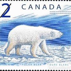 Sellos: [CF5239A] CANADÁ 1998, SERIE MAMÍFEROS 2 $ (MNH). Lote 147113578