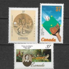 Sellos: CANADA 1988 ** MNH SERIES COMPLETAS - 7/28. Lote 147692706