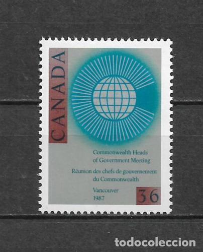 CANADA 1987 COMMONWEALTH ** MNH - 7/28 (Sellos - Extranjero - América - Canadá)