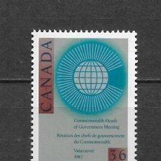Sellos: CANADA 1987 COMMONWEALTH ** MNH - 7/28. Lote 147693178