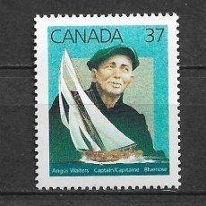 Sellos: CANADA 1988 BARCOS ** MNH - 7/28. Lote 147693266