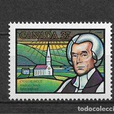 Sellos: CANADA 1988 RELIGION ** MNH - 7/28. Lote 147693362