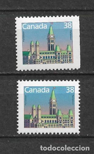 CANADA 1988 ARQUITECTURA ** MNH - 7/28 (Sellos - Extranjero - América - Canadá)